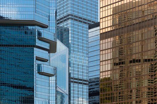 Business skyscraper building