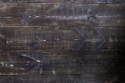 Hardwood planks. Front full frame view