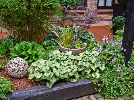 Attractive Beautiful English Garden