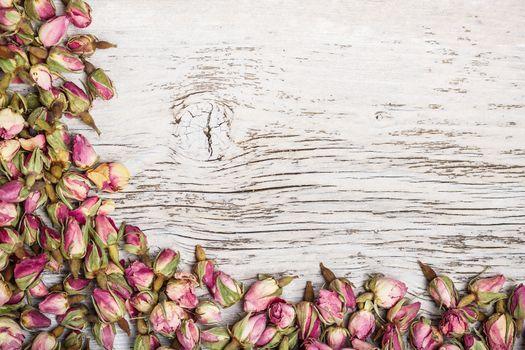Rose bud frame