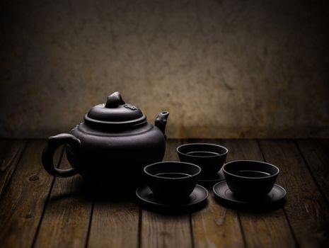 Chinese tea crockery