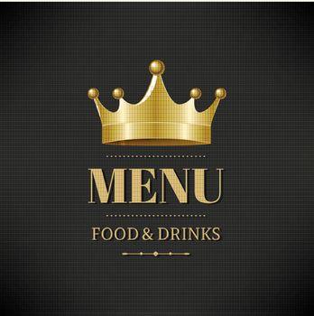 Restaurant Menu, With Gradient Mesh, Vector Illustration