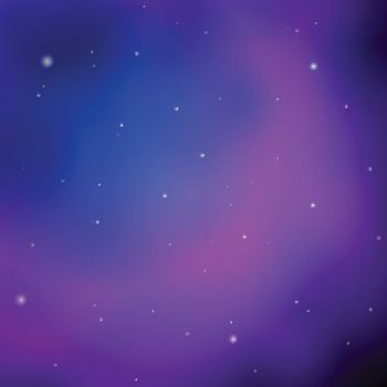 Abstract space texture with bright stars