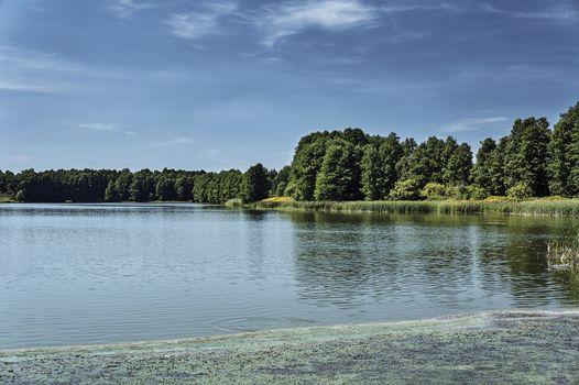 """Lagoon """"Blewazka"""" in Kobyla Gora"""