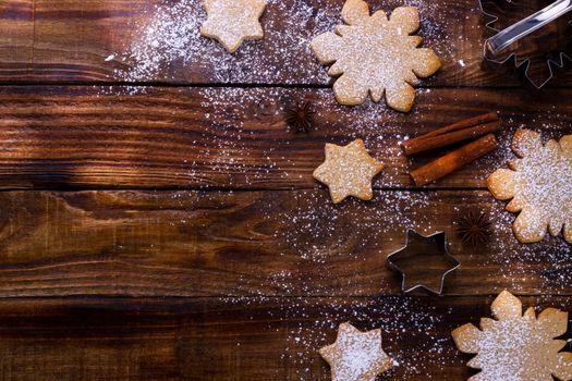 holiday baking background
