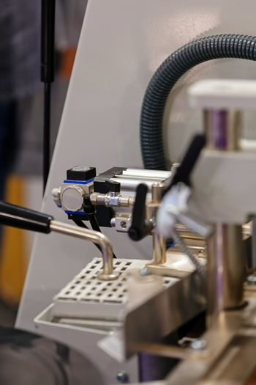 handles from machine