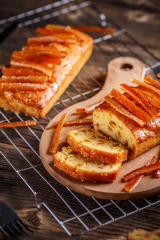 Delicious fruit loaf