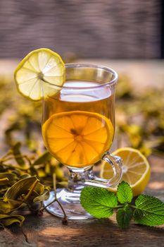 Cup of mistletoe tea