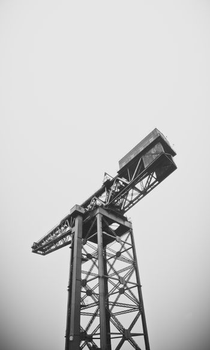 Imposing Docklands Crane
