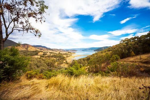 At Lake Blowering New South Wales Australia