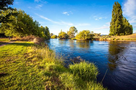 On the Tumut River Australia New South Wales