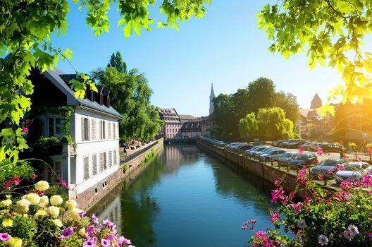 Strasbourg in summer