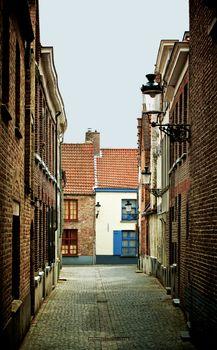 Obsolete Street in Bruges