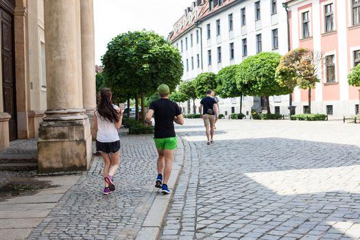 Poland Wroclaw city life
