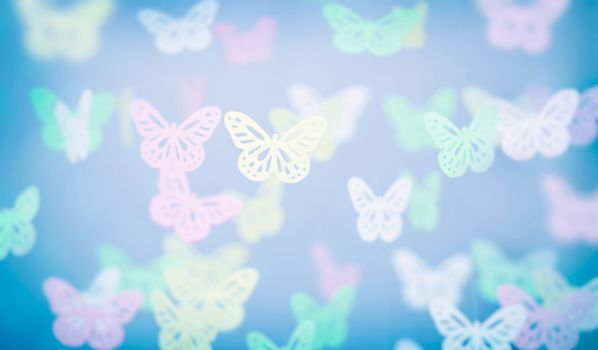 Abstract butterfly background