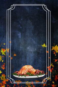 Holiday Thanksgiving Day Turkey Dinner Flier