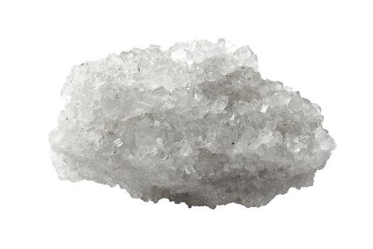 Crystal of mineral salt
