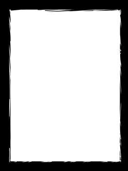 Rough Edge Empty Frame