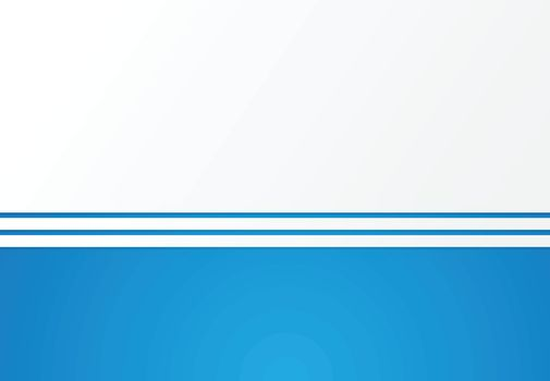 Abstract background blue with white lines horizontal copy space for print, ad, magazine, poster, brochure, leaflet, flyer, Vector illustration