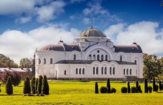 A beautiful Orthodox temple.