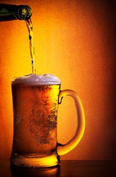 Tasty cold beer