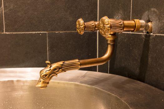 Unique brass faucet