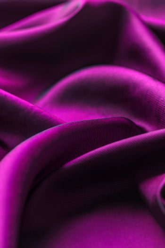 Purple satin cloth
