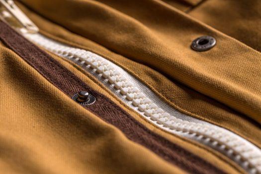 Jacket and zipper