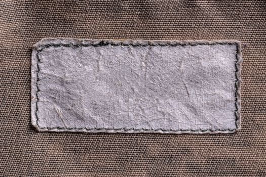 Label on textile