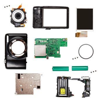 Compact digital photo camera