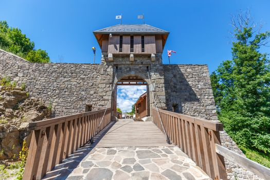 Bridge and gate
