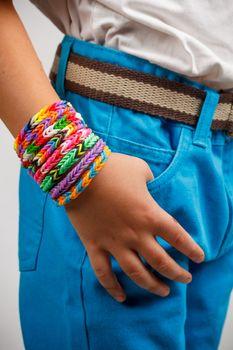 Loom bands bracelet