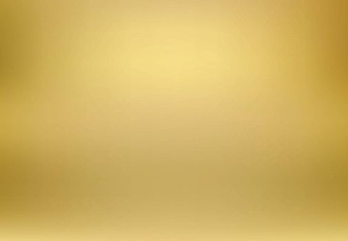 Vector gold blurred gradient style background. Abstract luxury smooth illustration wallpaper