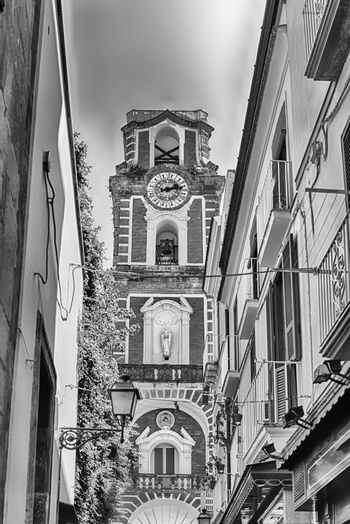 Tower bell of Sorrento Cathedral, Italy