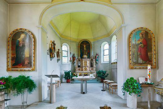 Insie of Church