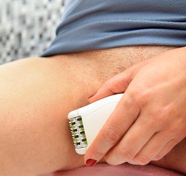 body shaves by epilator