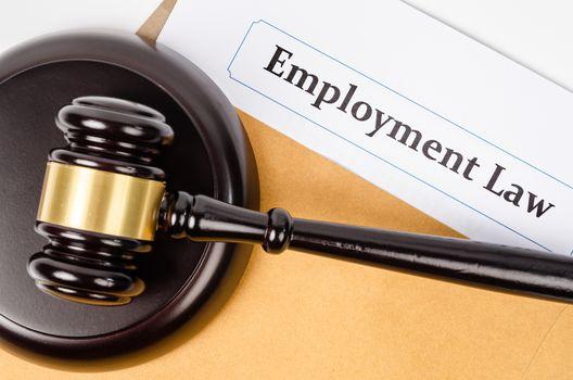 Employment law concept.