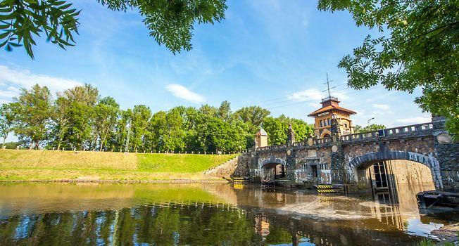 Lock at Horin Melník Bohemia Czech Republic