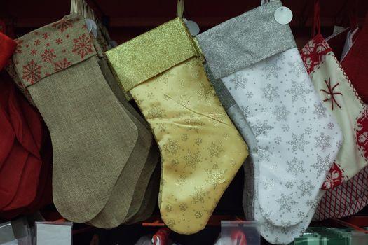 Christmas socks party