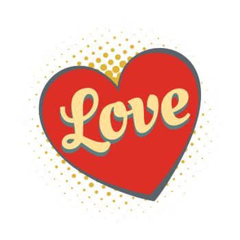 word love heart