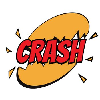 crash comic word