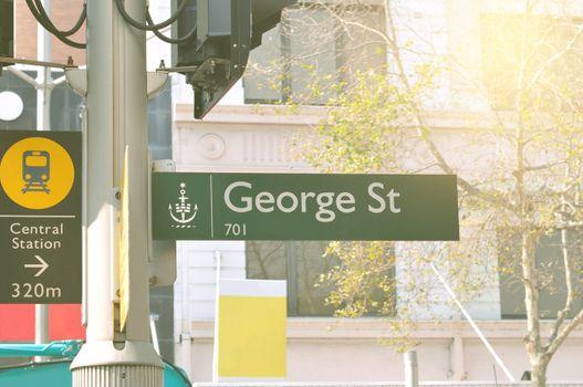George Street,Australia.