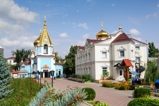 Ciuflea AKA Sf Teodor Tiron Monastery, Chisinau, Republic of Moldova. Was found by two brothers in 1858, Aromanian merchants who emigrated from Macedonia to Bessarabia in 1821.