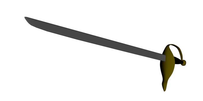 Sword - 3D render