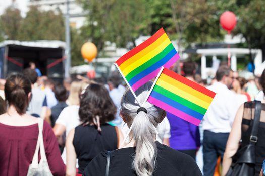 Lesbian, gay, bisexual and transgender (LGBT) pride