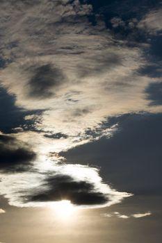 Sun Cloud Formation