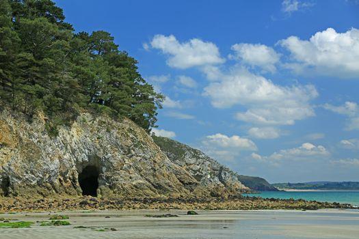 Entrance to a sea grotto