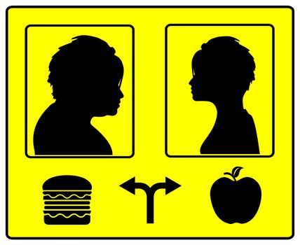 The nutrition is the cause of how you will look like in the future