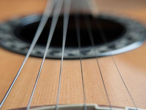 Macro Guitar Strings