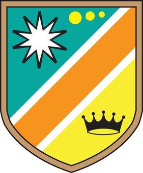 Royal Shield vector illustration clip-art